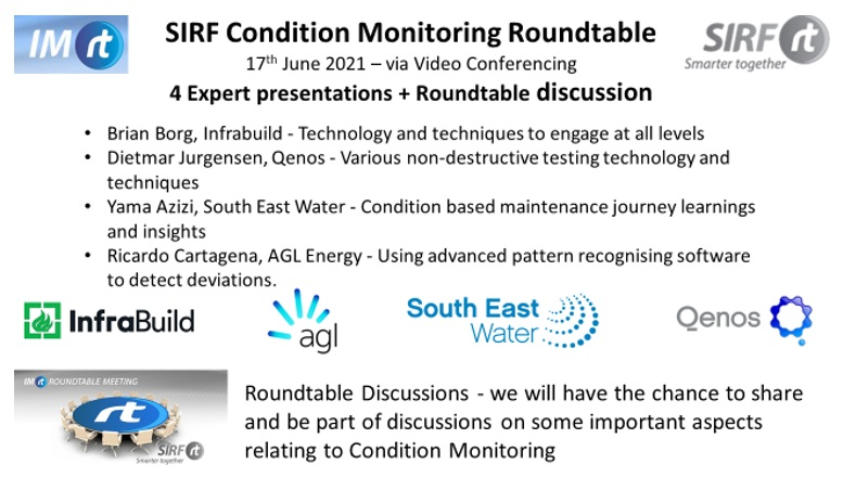Condition Monitoring Roundtable