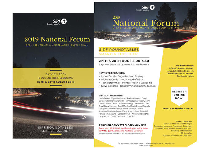 SIRF National Forum (2page)