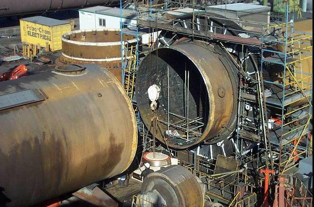 huge turbine generator