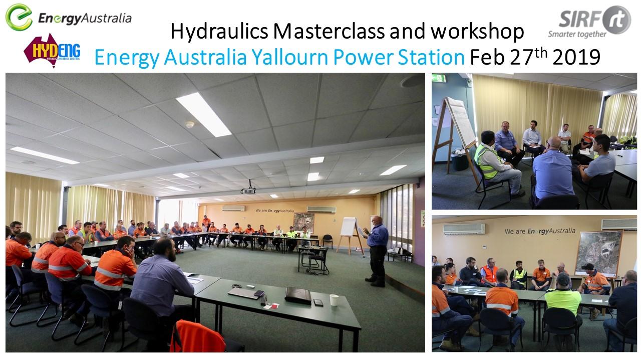 linkedin SIRF Hydraulics masterclass and workshop